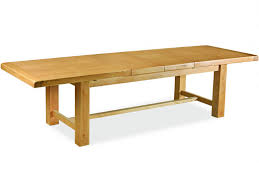large extending dining table antibes oak 2 2m large extending dining table lee longlands