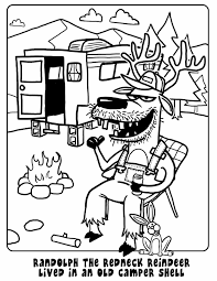 i drew a horse once randolph the redneck reindeer