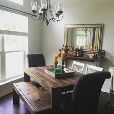 domesticated combat boots dining room decor