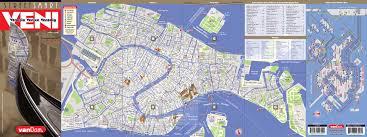Map Of Venice Venice Map By Vandam Venice Streetsmart Map City Street Maps