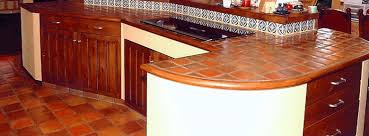 terracotta tiles floors counterstops kitchen and bath san