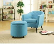homepop button tufted velvet round storage living room ottoman