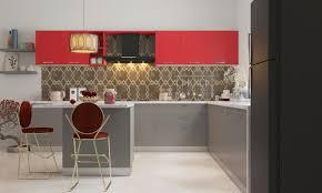 L Kitchen Design Livspace Com