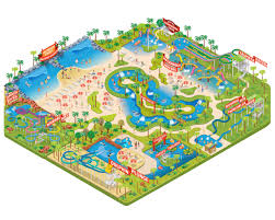 Seaworld Orlando Park Map by Sea World Orlando By Made By Radio Map Design
