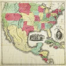 Map Of The States In The United States by United States The Old Print Gallery Blog