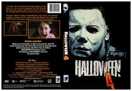 Halloween Dvd Halloween 4 1988 Dvd Cover By Dvdcovers On Deviantart