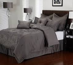 charcoal bedding 8 piece queen roselle charcoal comforter set bedding pinterest