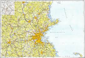 Boston On Map by Download Topographic Map In Area Of Boston Lowell Worcester