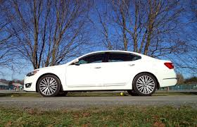 car review 2014 kia cadenza premium driving