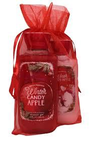 bath u0026 body works winter candy apple gift set bundle of shower gel