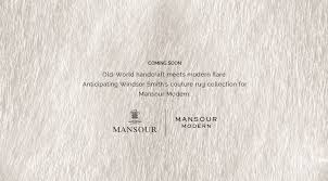 Mansour Modern Rugs Smith For Mansour Modern Couture Rug Collection