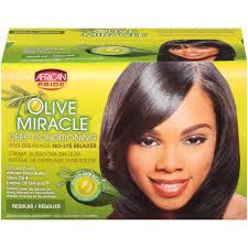 african pride olive miracle regular deep conditioning anti