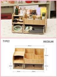 Diy Wooden Desktop by Creative Diy Wooden Pen Holder Desktop Stationery Cosmetics