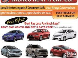 rent a price jabrco rent a car qatar living