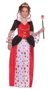 kids queen of hearts tween girls costume 27 99 the costume land