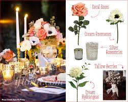 coral and navy wedding centerpiece jennifer u0027s inspiration board