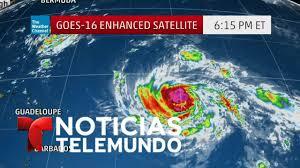 imagenes satelitales live en vivo imágenes satelitales de la trayectoria del huracán irma