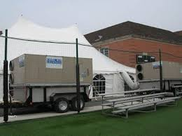 air conditioned tent air conditioning and heating service for weddings and