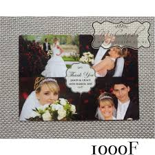Wedding Invitations And Thank You Cards A6 Thank You Card Photo Design 1000f Wedding Invitation
