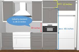 ikea kitchen cabinet filler panels learning from design mistakes ikea semihandmade kitchen