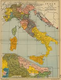Map Of Northern Italy by