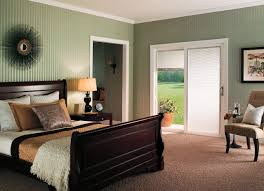 Bedroom Designs With Tan Walls Exterior Design Wooden Pella Doors On Tan Wall Matched With
