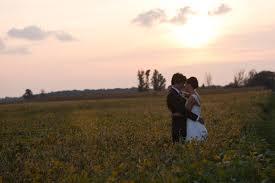 real weddings diy backyard country wedding two bright lights