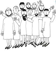 ten lepers coloring page funycoloring