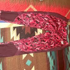red patterned leggings avia pants wine red patterned leggings poshmark