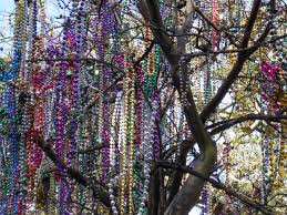 New Orleans Parade Routes Map by
