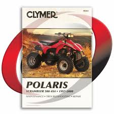 1997 2000 polaris scrambler 500 4x4 repair manual clymer m363
