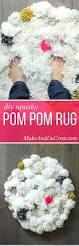 Pom Pom Rug Instructions How To Make A Diy Pom Pom Rug Make U0026 Do Crew