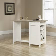 sauder cottage road work table soft white hayneedle