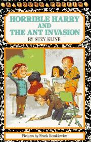 horrible harry and the ant by suzy
