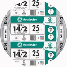 Southwire In Wall Digital 7 by Southwire 14 2 Ufw G Wire 13054221 Taylors Do It Center
