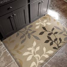 Hallway Runners Walmart by Better Homes And Gardens Sorbet Faux Hook Floral Area Rug Or