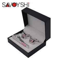 tie box gift newest black cufflinks tie pin box gift storage cuff box