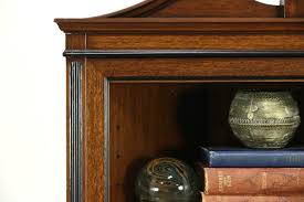 Antique Corner Cabinets Traditional 1920 U0027s Antique Mahogany Corner Cabinet Dropleaf