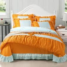 Burnt Orange Comforter King Best 25 Orange Bed Sets Ideas On Pinterest Master Bedroom Redo