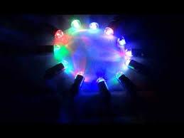 multi color changing mini led lights demonstration