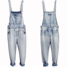 jean one jumpsuit s 4xl 5xl large size mens denim blue overalls fashion