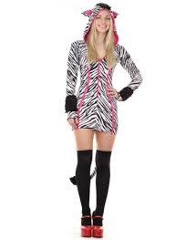 savanna zebra costume cartoon animal leg avenue fancy dress