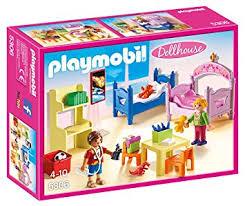 playmobil 5306 chambre d enfants avec lits superposés amazon fr
