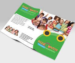 brochure design for kidz watch by xtreme creators design 3436982