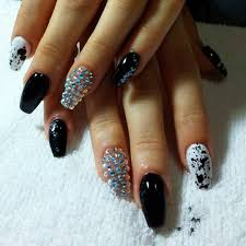54 black nails with design 60 pretty matte nail designs styletic