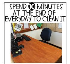 How To Clean Your Desk Brunos Blackboard How To Keep Your Desk Clean