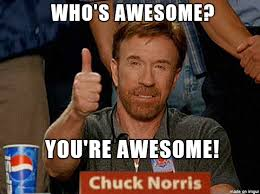 You Are Awesome Meme - chuck norris awesome meme on imgur