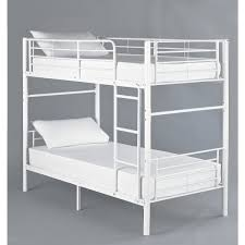 Hyder Bunk Beds Seattle White Metal Bunk Bed