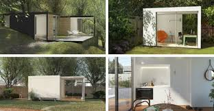 Backyard Room Prefab Homes From Cover Are Designed By Computer Algorithms Curbed