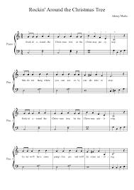 Brenda Lee Rockin Around The Christmas Tree Lyrics Rockin Around The Christmas Tree Piano Notes Photo Album Christmas